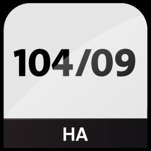 HA 104/09